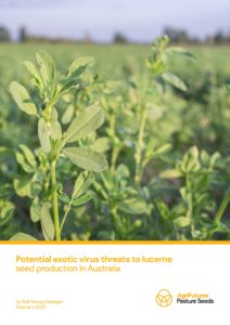 Potential exotic virus threats to lucerne seed production in Australia - image