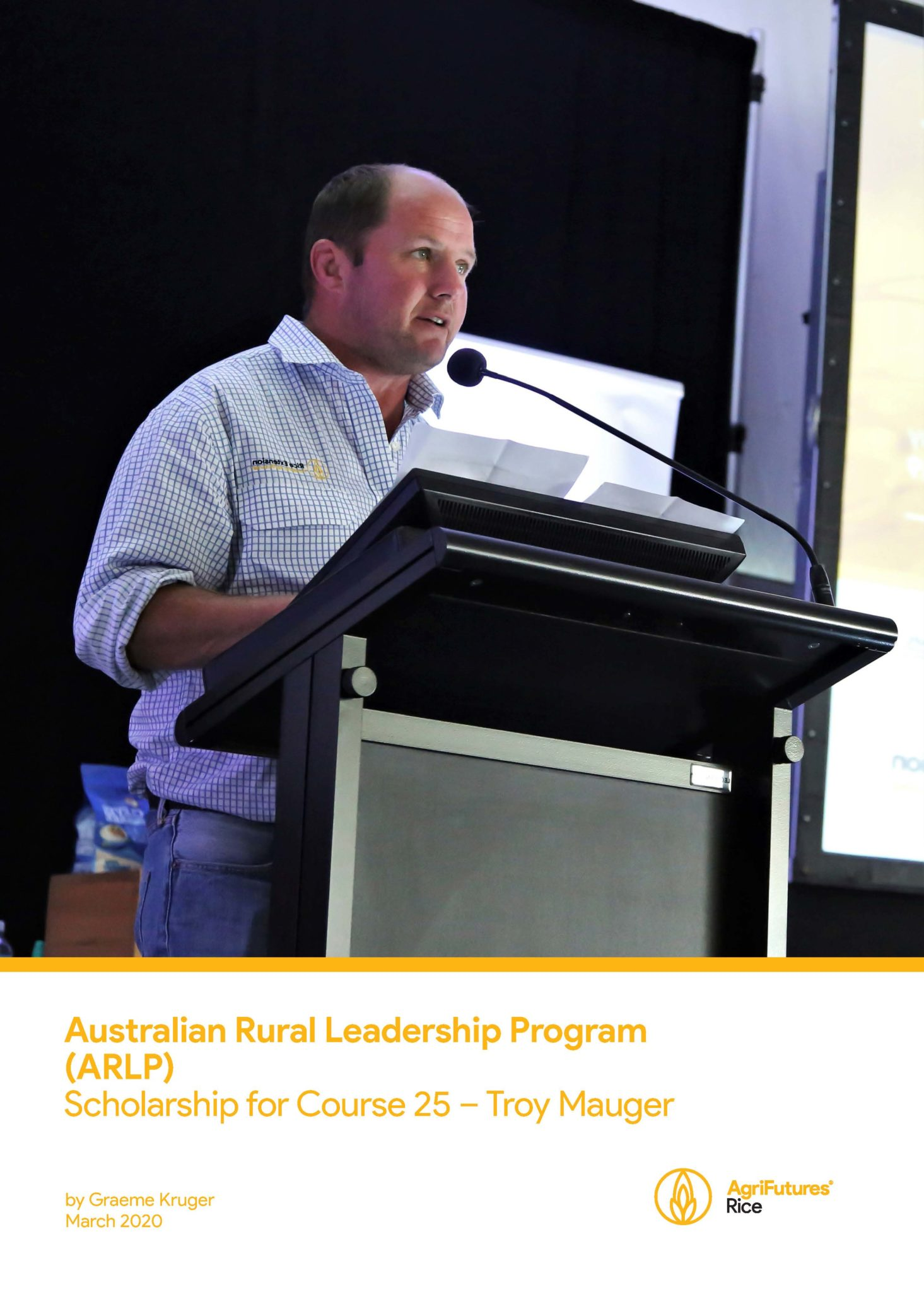 Australian Rural Leadership Program (ARLP) Scholarship for Course 25 – Troy Mauger - image
