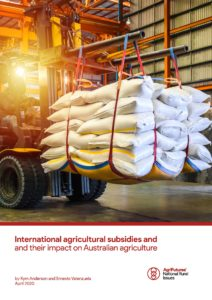 International agricultural subsidies and and their impact on Australian agriculture - image