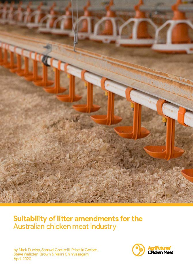 Suitability of litter amendments for the Australian chicken meat industry - image
