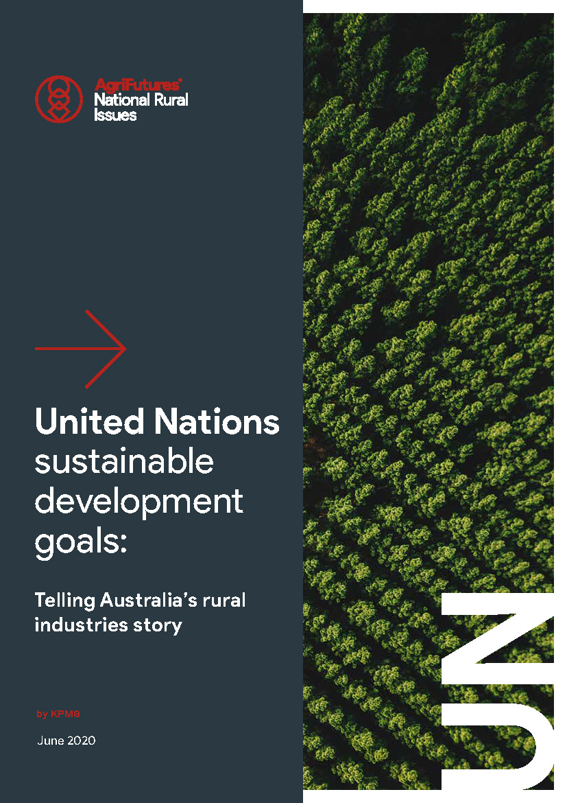 United Nations Sustainable Development Goals: Telling Australia's Rural Industries Story - image