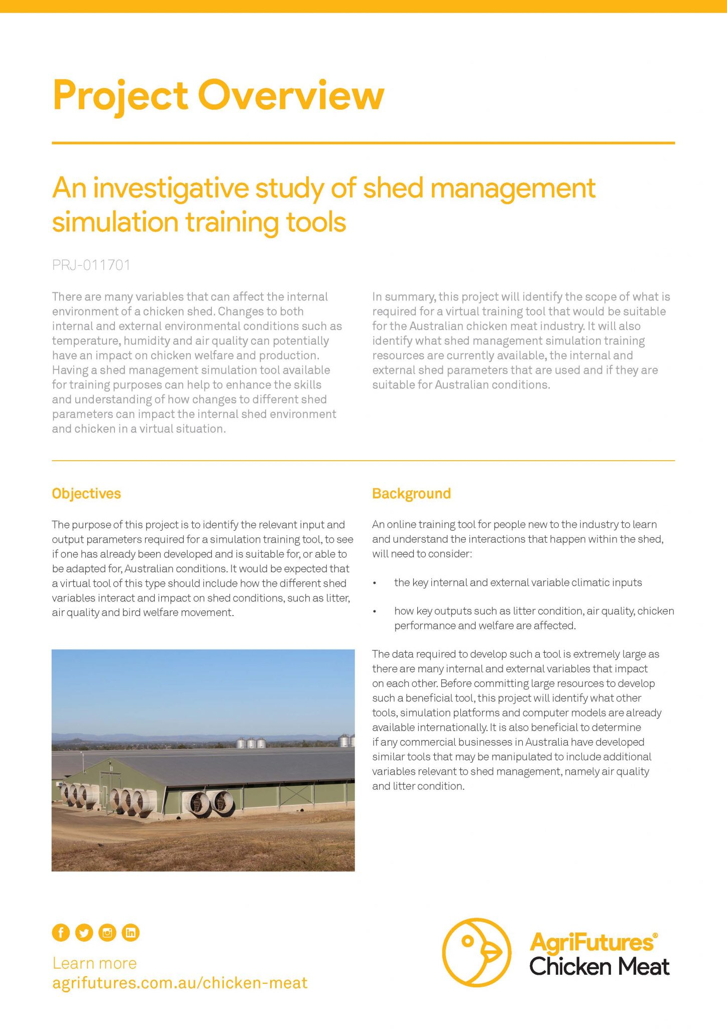 Project overview: An investigative study of shed management simulation training tools - image