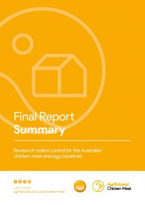 Final report summary: Review of rodent control for the Australian chicken meat and egg industries - image