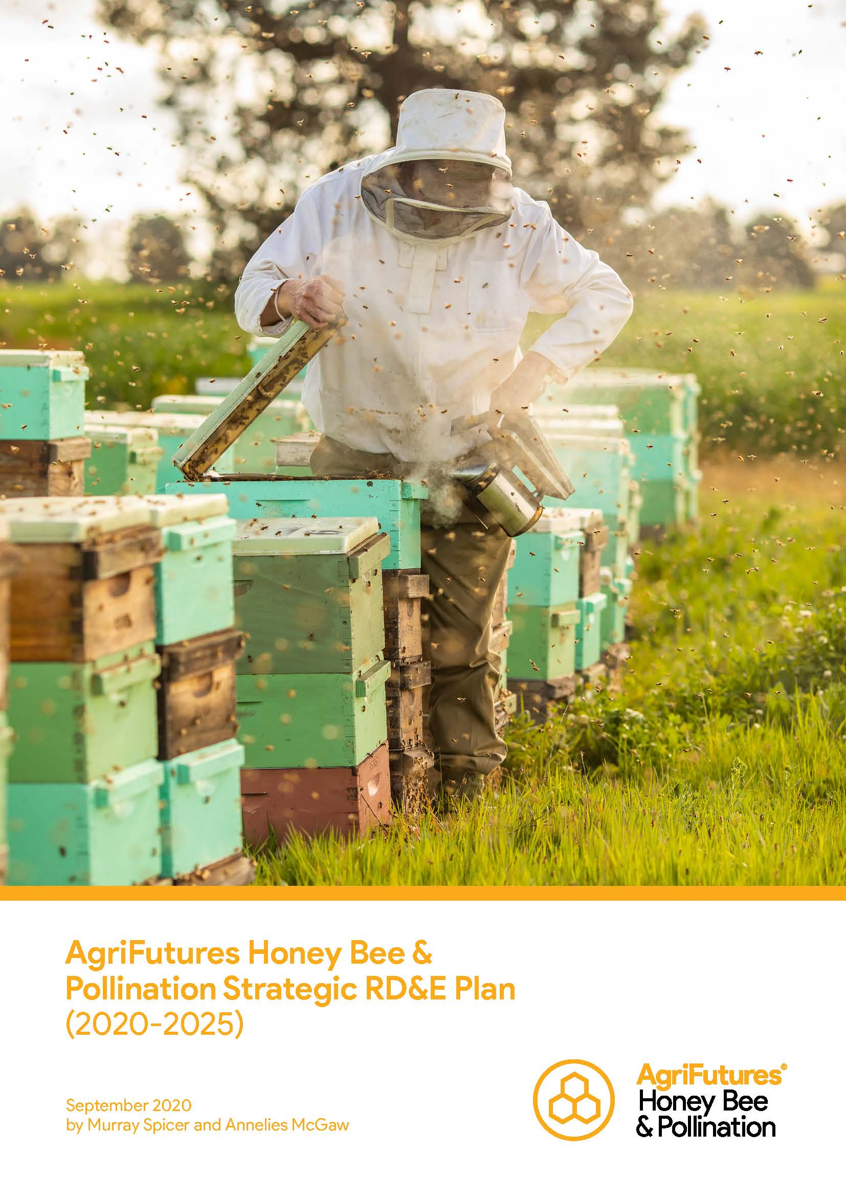 AgriFutures Honey Bee & Pollination Strategic RD&E Plan (2020-2025) - image