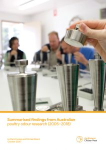 Summarised findings from Australian poultry odour research (2005–2018) - image