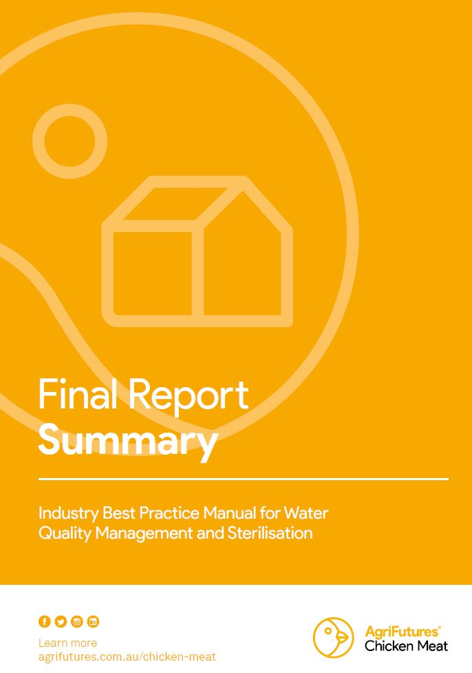 Final Report Summary: Industry best practice manual for water quality management and sterilisation - image