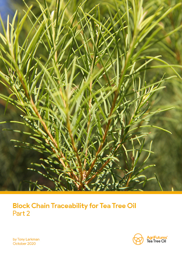 Block Chain Traceability for Tea Tree Oil: Part 2 - image