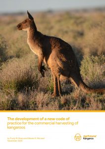 The development of a new code of practice for the commercial harvesting of kangaroos - image