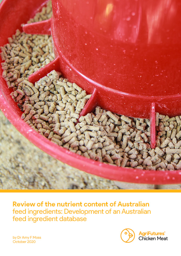 Review of the nutrient content of Australian feed ingredients: Development of an Australian feed ingredient database - image