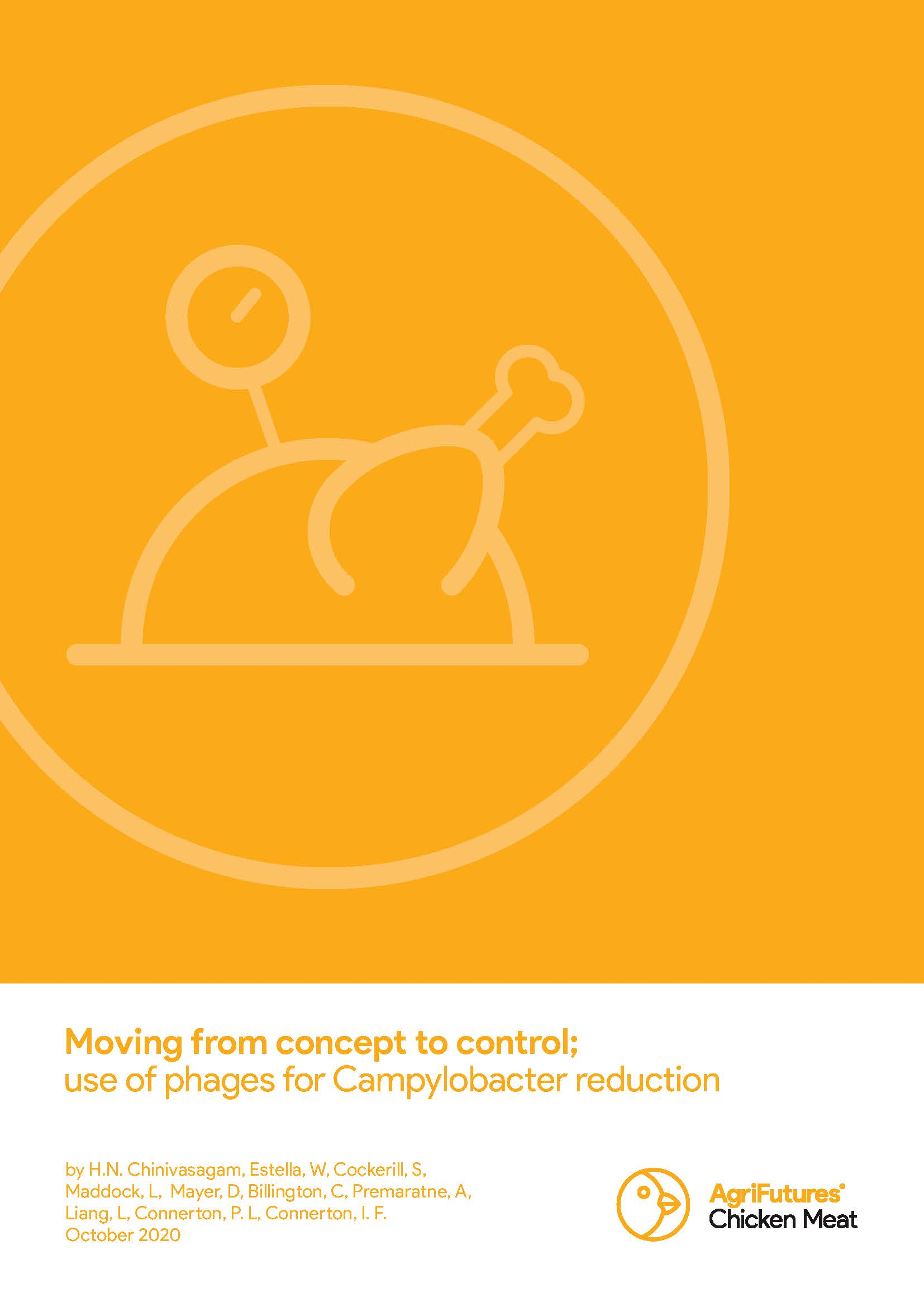 Moving from concept to control; use of phages for Campylobacter reduction - image