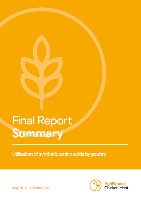 Final report summary: Utilisation of synthetic amino acids by poultry - image
