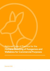 National Code of Practice for the Humane Shooting of Kangaroos and Wallabies for Commercial Purposes - image
