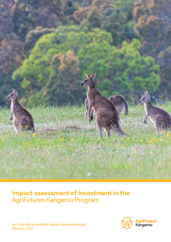 Impact assessment of investment in the AgriFutures Kangaroo Program - image