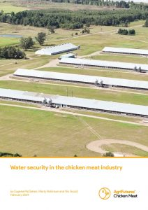 Water security in the chicken meat industry - image