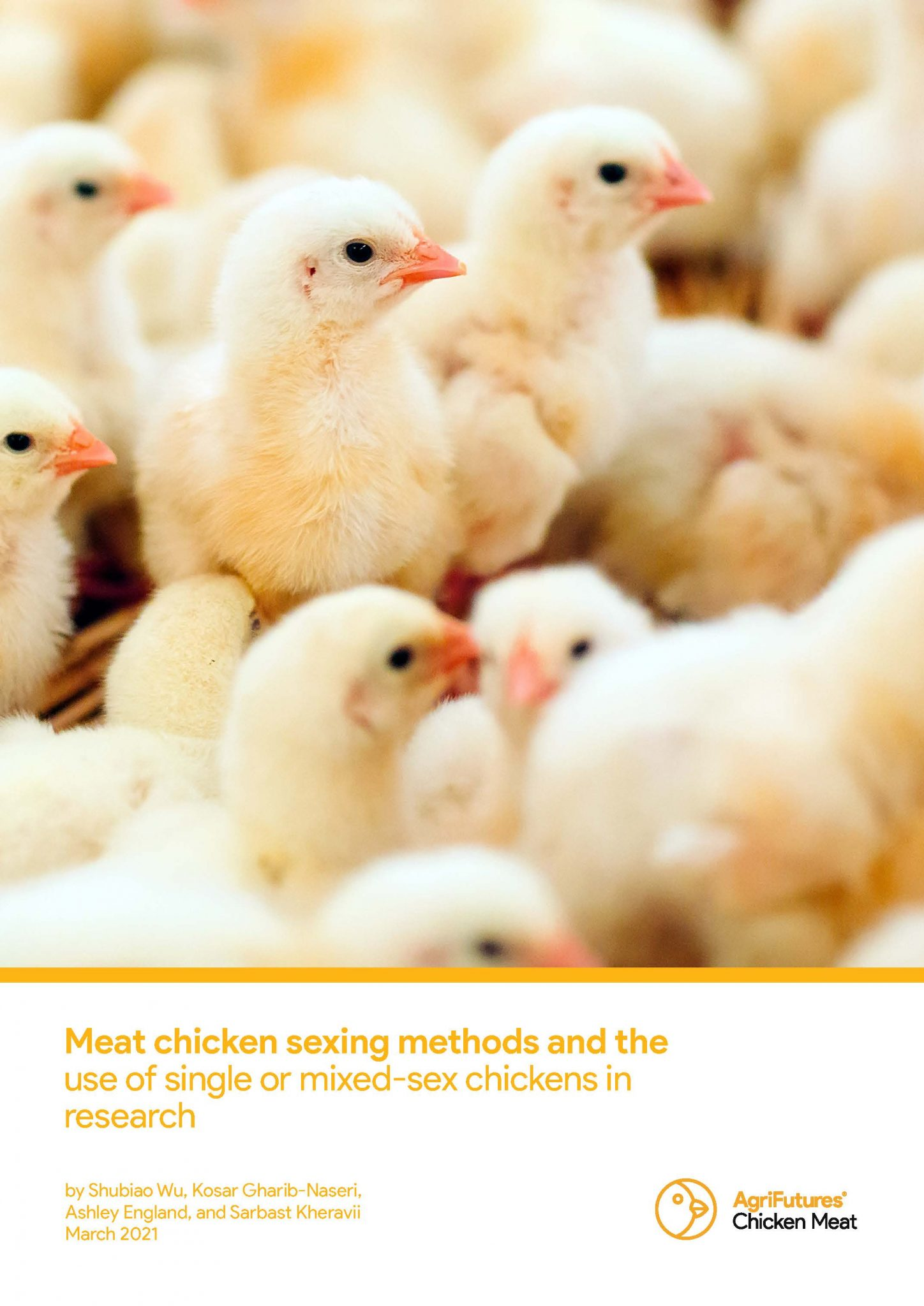 Final report: Meat chicken sexing methods and the use of single or mixed-sex chickens in research - image