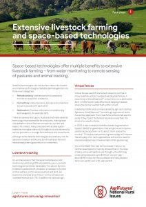 Fact sheet: Extensive livestock farming and space-based technologies - image