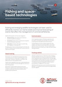 Fact sheet: Fishing and space-based technologies - image