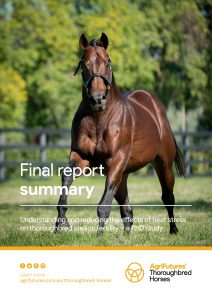 Final report summary: Understanding and reducing the effects of heat stress on thoroughbred stallion fertility - image