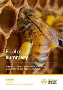 Final report summary: Improving biosecurity and better understanding bee health in Australia - image