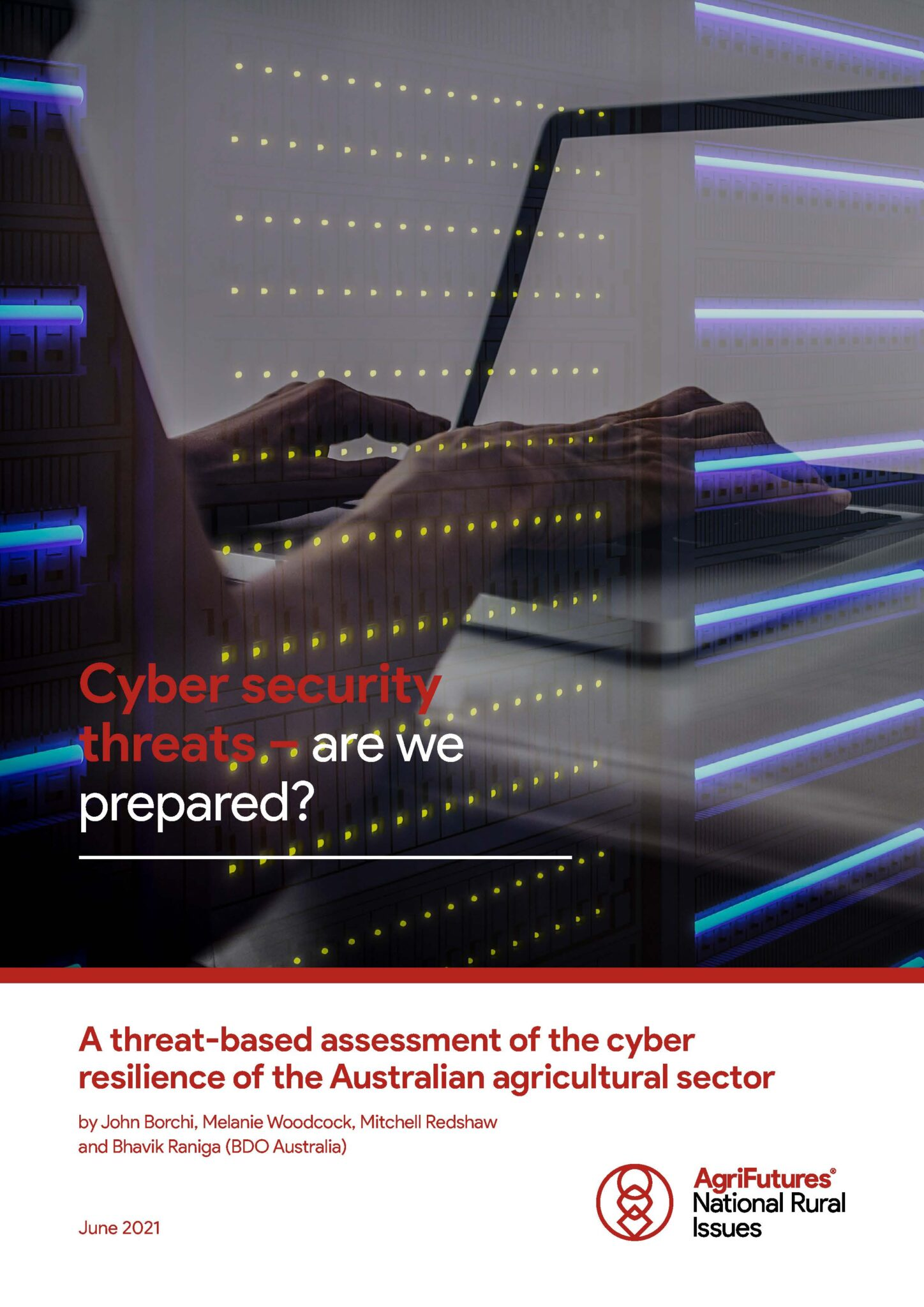 Cyber security threats – are we prepared? A threat-based assessment of the cyber resilience of the Australian agricultural sector - image
