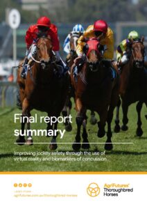 Final report summary: Improving jockey safety through the use of virtual reality and biomarkers of concussion - image