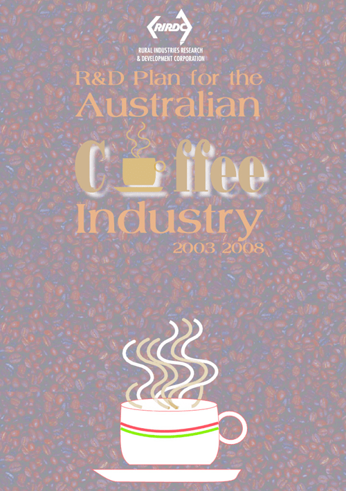 Coffee Industry 5 Year Plan 2003-2008 - image