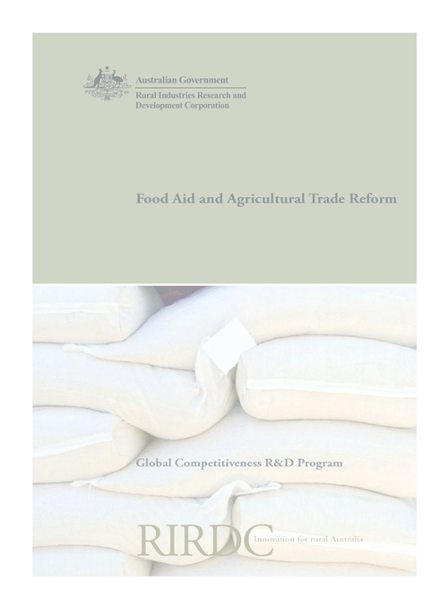 Food Aid and Agricultural Trade Reform - image