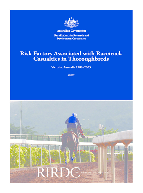 Determinants of Thoroughbred Racehorse Fatality In Victoria, Australia - image