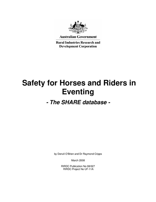 Safety for Horses and Riders in Eventing - image