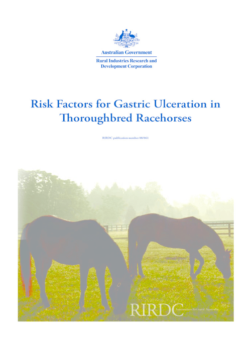 Risk Factors for Gastric Ulceration in Thoroughbred Racehorses - image