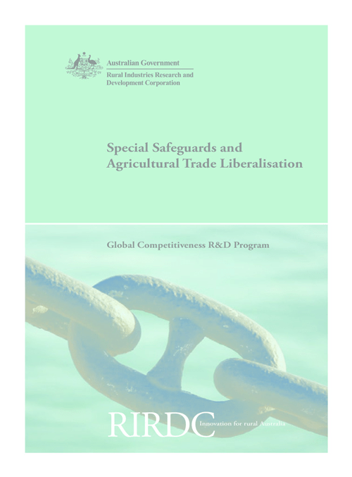 Special Safeguards and Agricultural Trade Liberalisation - image