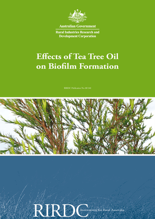 Effects of Tea Tree Oil on Biofilm Formation - image