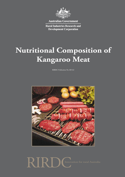 Nutritional Composition of Kangaroo Meat - Fat content and lipid composition - image