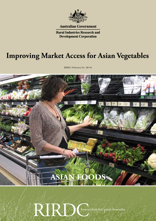 Improving Market Access for Asian Vegetables - image