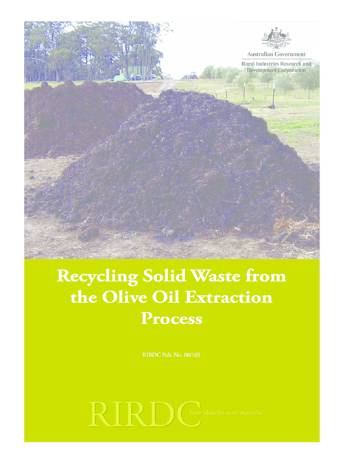 Recycling Solid Waste from the Olive Oil Extraction Process - image