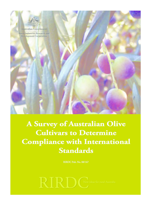 A Survey of Australian Olive Cultivars to Determine Compliance with International Standards - image