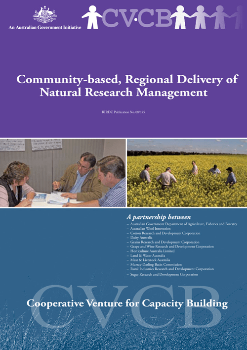 Community-Based, Regional Delivery of Natural Resource Management - image
