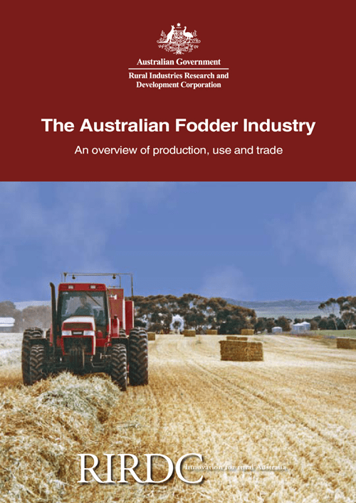 The Australian Fodder Industry - Comprehensive and up-to-date information on producing, using and trading Australian fodder - image