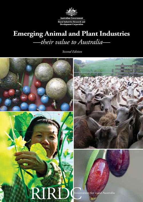 Emerging Animal and Plant Industries - Their Value to Australia (2nd Edition) - image