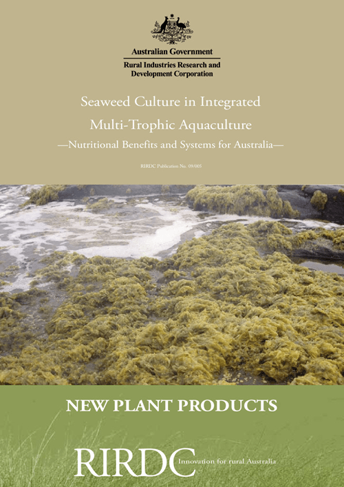 Seaweed Culture in Integrated Multi-Trophic Aquaculture: Nutritional Benefits and Systems for Australia - image