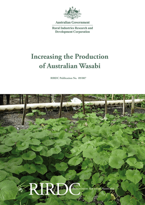 Increasing the Production of Australian Wasabi - image