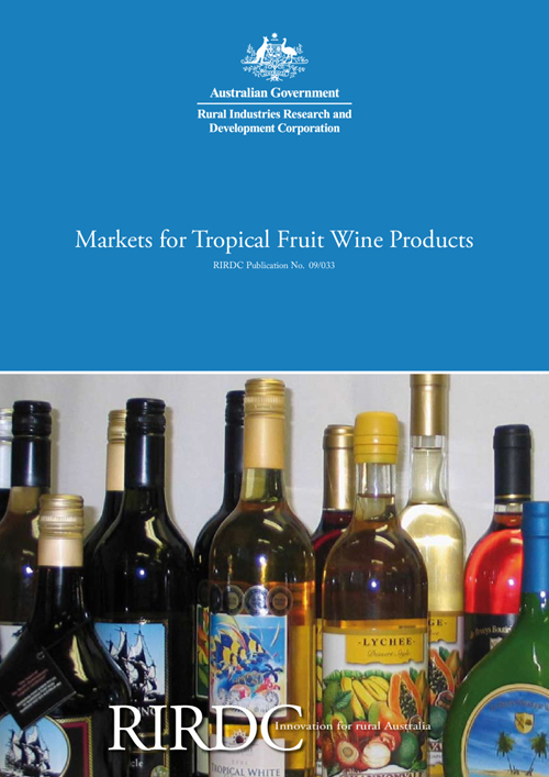 Markets for Tropical Fruit Wine Products - image
