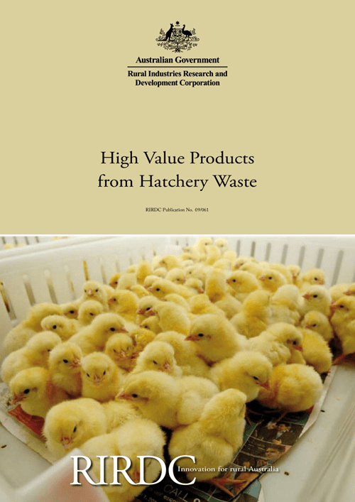 High Value Products from Hatchery Waste - image