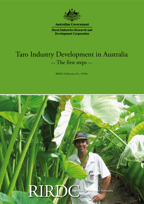 Taro Industry Development in Australia: The first steps - image