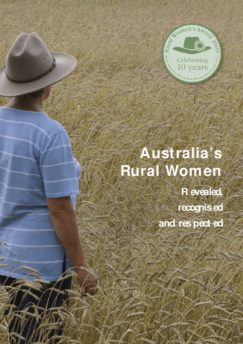 Australia's Rural Women - Revealed, recognised, respected - image