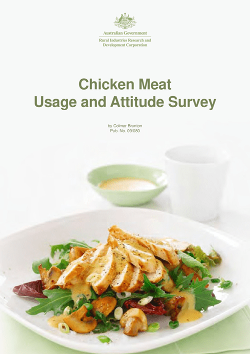Chicken Meat Usage and Attitude Survey - image