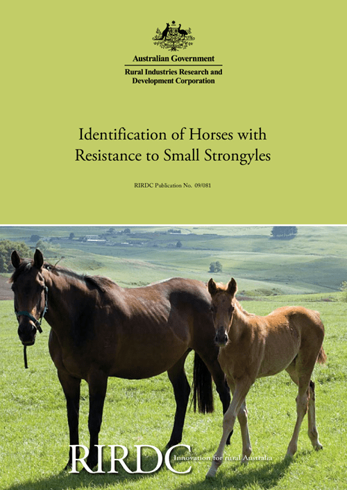 Identification of Horses with Resistance to Small Strongyles - image