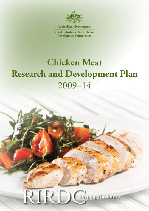 Chicken Meat Research and Development Plan 2009-14 - image