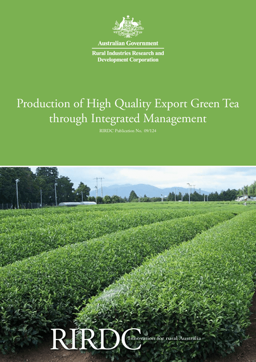 Production of High Quality Export Green Tea through Integrated Management - image