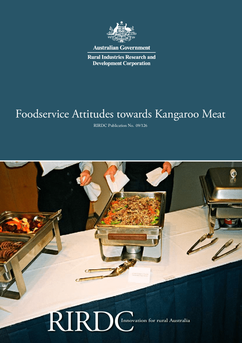 Foodservice Attitudes towards Kangaroo Meat - image